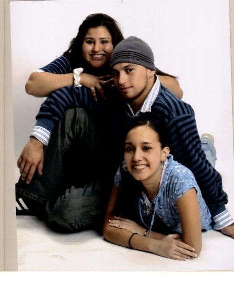 the amaro kids-Left to Right-Markitah, Chris,Brenda